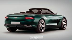 Bentley EXP10 Speed6 Convertible Concept rear2