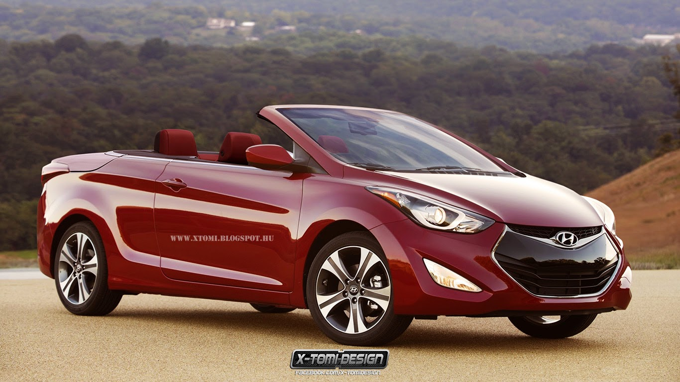 Hyundai Elantra Cabrio Roadster Magazin