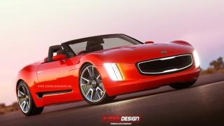 Kia GT4 Stinger Cabriolet Concept2