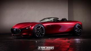 Mazda RX-Vision Roadster. Rendering: x-tomi