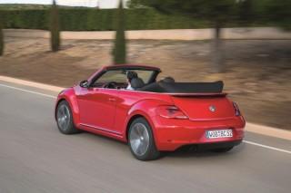 Auch das VW Beetle Cabrio hat es mittlerweile schwer
