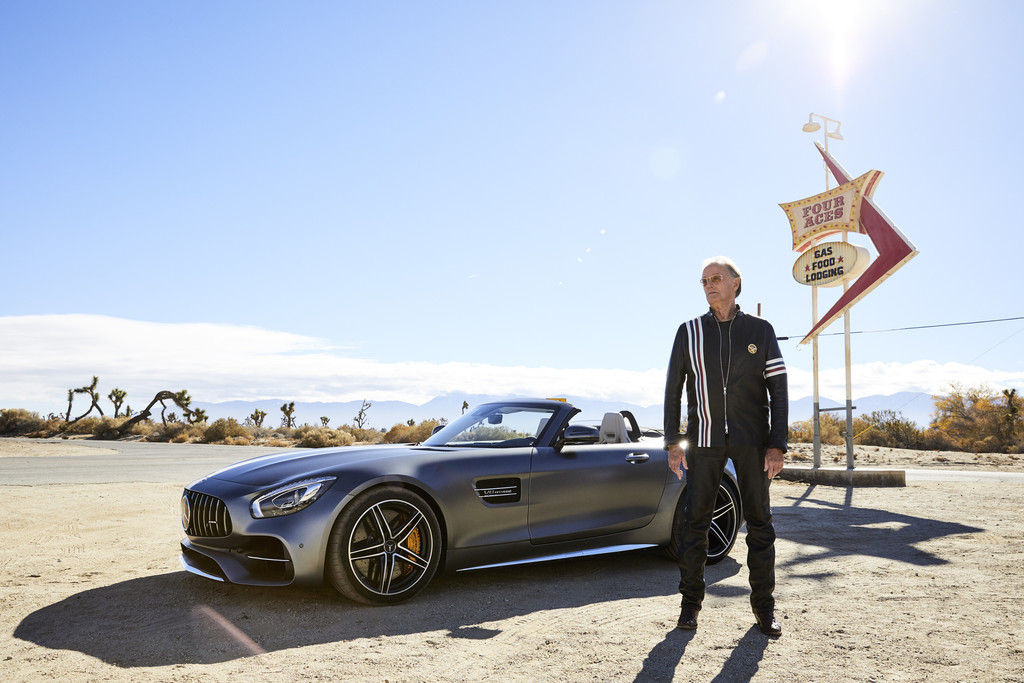 Peter Fonda Mercedes-AMG GT Roadster Easy Driver