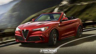 Rendering Alfa Romeo Stelvio Spider