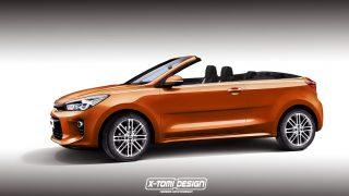 Rendering: Kia Rio Cabrio