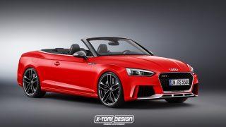Audi RS5 Cabriolet. Rendering von x-tomi Design