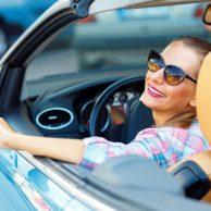 Die Frau und ihr Cabrio! Der beste Freund der Frauen.