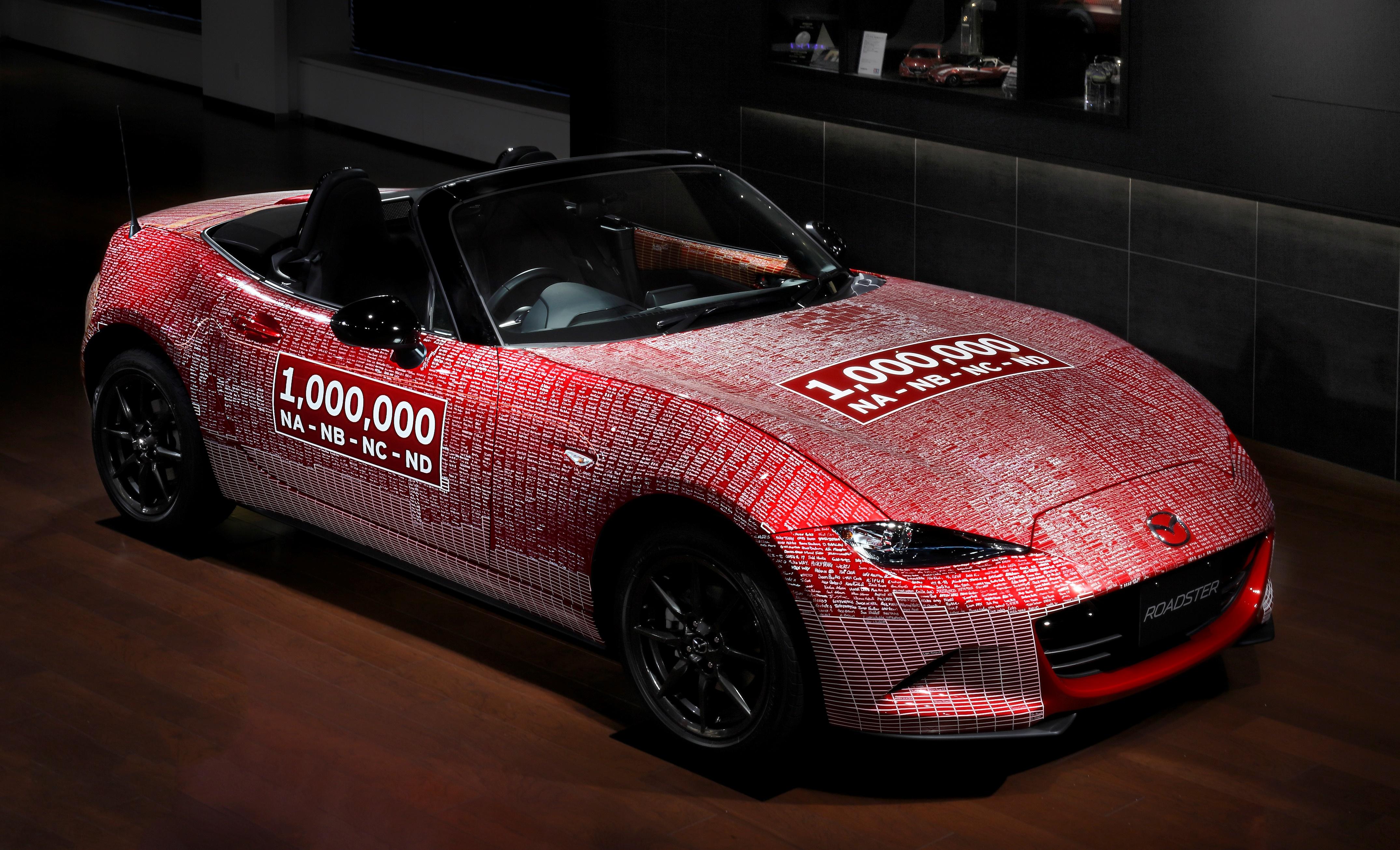 Einmillionster Mazda MX-5 kehrte nach seiner Weltreise nach Japan zurück
