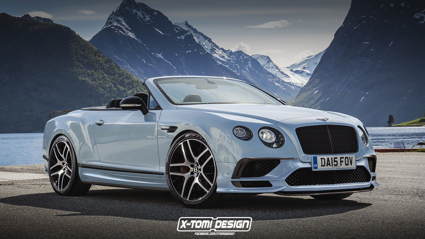 Bentley Continental Supersports Convertible. Rendering von X-Tomi Design
