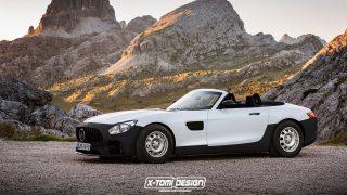 Mercedes-Benz AMG GT Roadster Base Spec. Rendering von X-Tomi Design