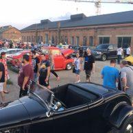 Motornights: Das Autotreffen in der alten Werft