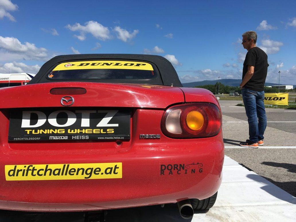 Drift Challenge Austria 2017. Katharina Dornhofer im MAZDA MX-5