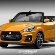Rendering des Monats: Suzuki Swift Sport Cabrio
