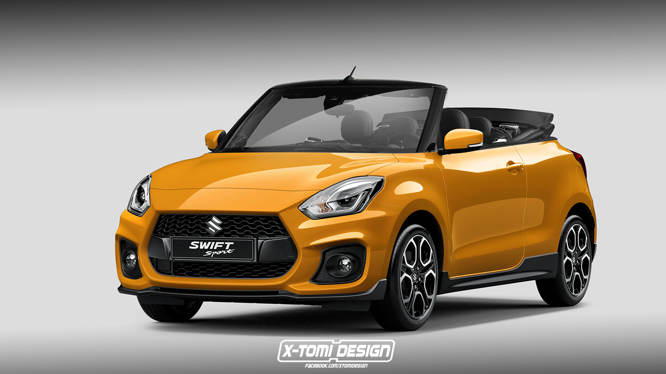 rendering des monats suzuki swift sport cabrio roadster magazin. Black Bedroom Furniture Sets. Home Design Ideas