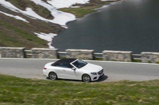 Mercedes-Benz E 400 4Matic Cabriolet.