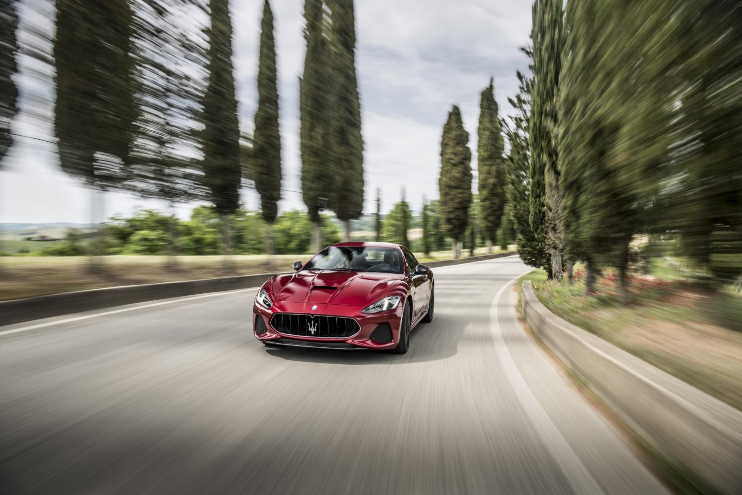 Die Maserati-'Haifischnase' weckt nun einen dreidimensionalen Eindruck.