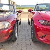 Mazda MX-5 im Generationen-Vergleich