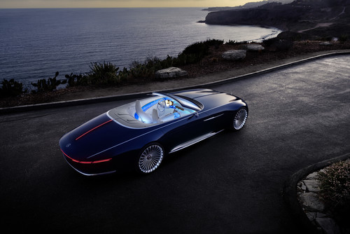Mercedes-Maybach 6 Cabriolet.
