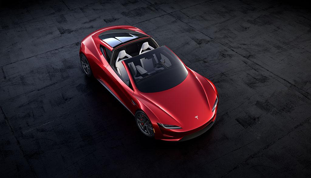 Tesla Roadster 2020.
