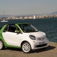 Smart Fortwo Electric Drive Cabrio.