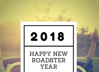 Wir wünschen ein frohes neues Roadster Jahr 2018