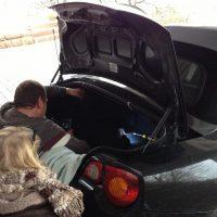BMW Z4 Verdeckpumpe