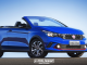 Rendering: Fiat Argo HGT Cabrio