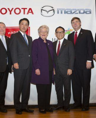 Mazda und Toyota wollen in Huntsville im US-Bundesstaat Alabama ein gemeinsames Werk bauen.