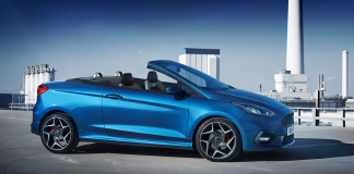 Rendering: Ford Fiseta ST Cabriolet