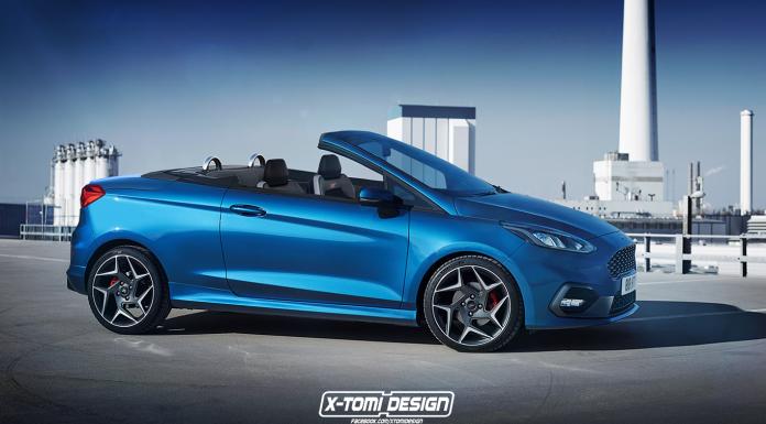 Rendering: Ford Fiseta ST Cabriolet