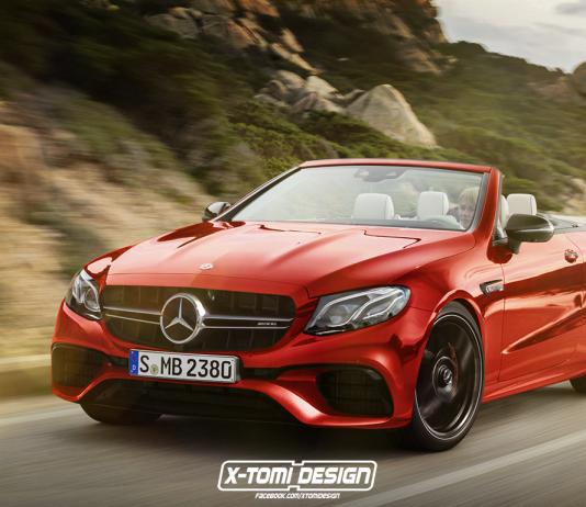 Rendering: Mercedes-Benz E63 AMG Cabrio
