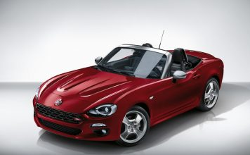 Fiat 124 Spider Europa Limited Edition.