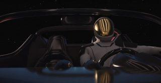 Spaceman ist DER Roadsterfahrer für die Ewigkeit