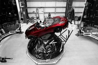 Tesla Roadster SpaceX.