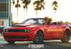 Dodge Challenger SRT Demon Convertible