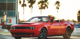 Dodge Challenger SRT Demon Convertible
