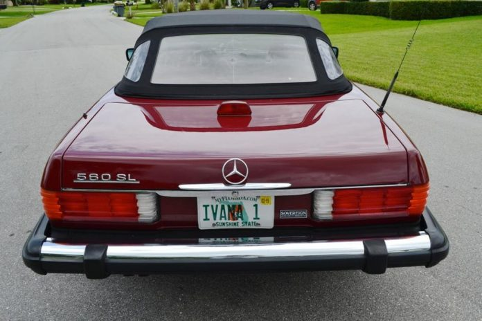 Mercedes-Benz 560 SL Cabriolet von Donald Trump