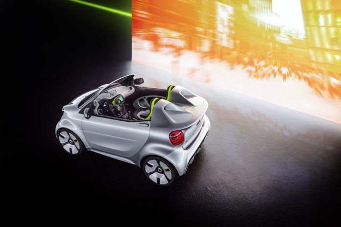 Showcar Smart Forease.