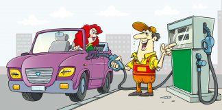 Cabrio Tankstelle Benzinpreis Tankboykott 2018