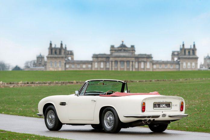 Aston Martin DB6 MKII Volante mit Elektroantrieb. Original ab Werk.