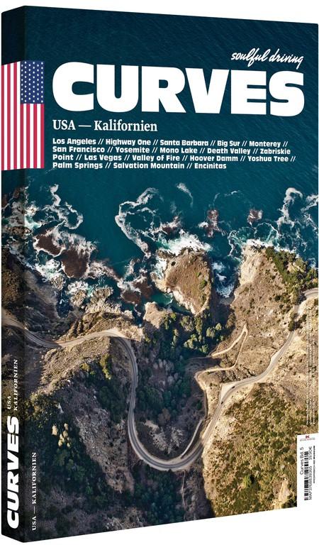 """Curves: USA – Kalifornien"" von Stefan Bogner. Foto: Auto-Medienportal.Net/Delius-Klasing-Verlag"