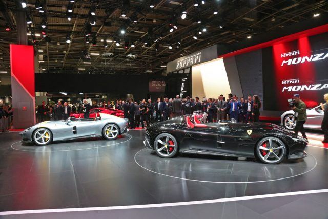 Ferrari Monza SP1 und SP2 Sonderserie: Icona Foto: copyright ferrari media