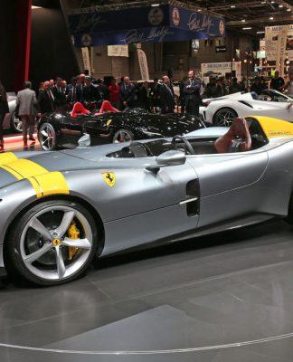 Ferrari Monza SP1 und SP2 Sonderserie: Icona Foto: © ferrari media
