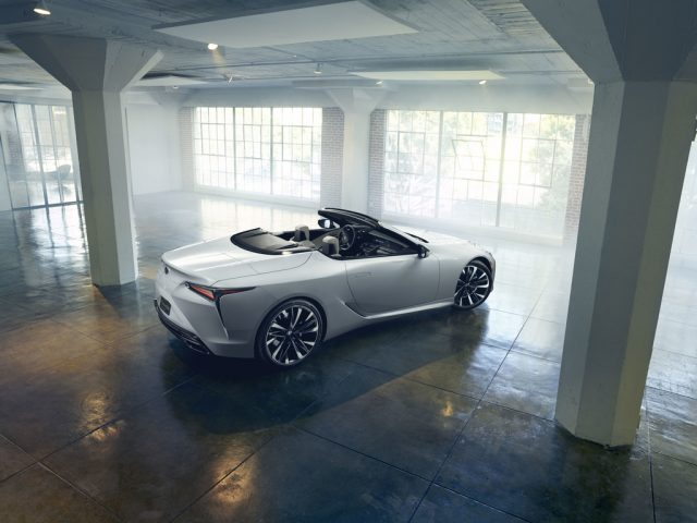 Lexus RC Cabriolet.  Foto: Auto-Medienportal.Net/Lexus
