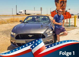 Mit dem Ford Mustang Cabrio durch die USA