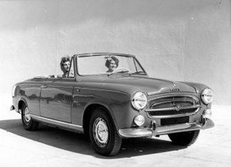 Peugeot 403 Cabriolet (1959) Foto: Peugeot