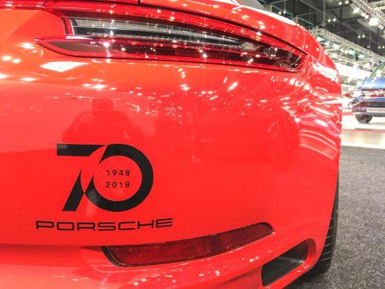 1948 – 2018 / 70 Jahre Porsche. Wir haben aber schon 2019. Also, 71 Jahre Porsche. Foto: © Mario Kranabetter 2019