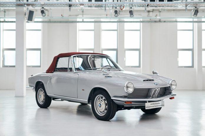 Prototyp des BMW 1600 GT Cabriolet (1967) Foto: Auto-Medienportal.Net/BMW