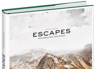 Buchvorstellung: Escapes. Traumrouten der Alpen von Stefan Bogner