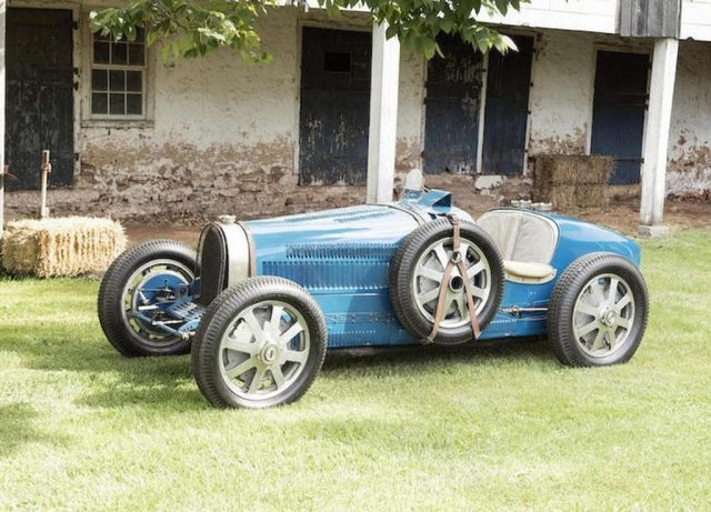 Bugatti Typ 51 Grand Prix Roadster (1931). Foto: Bonhams