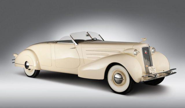 Cadillac Fleetwood V-16 Rumbleseat Roadster (1934). Foto: Auto-Medienportal.Net/Cadillac